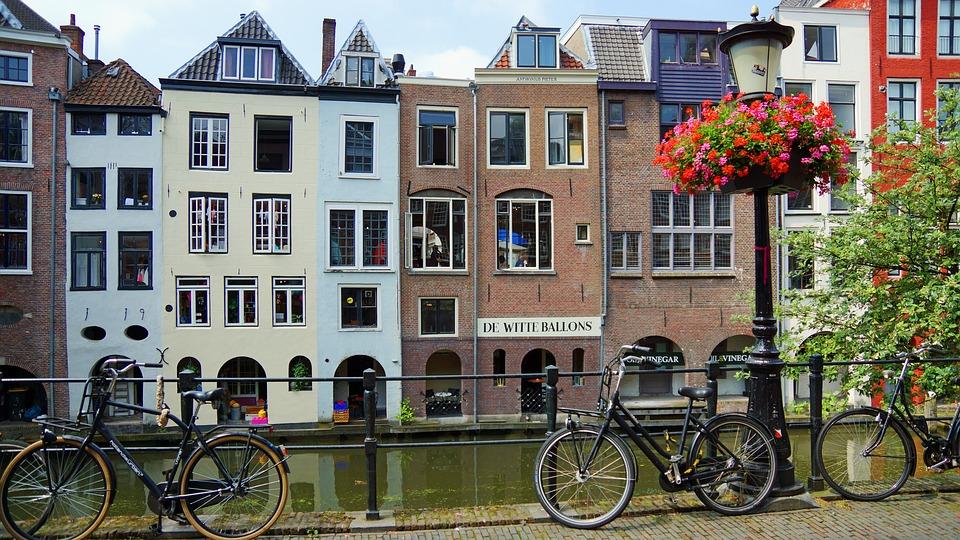 Fietsen door Utrecht