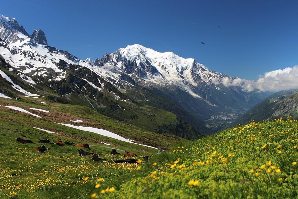 Mont Blanc fietsen