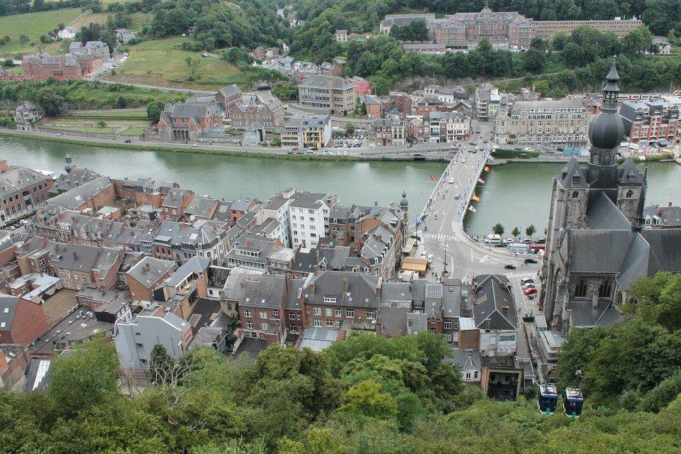 Dinant Belgie fietsroute